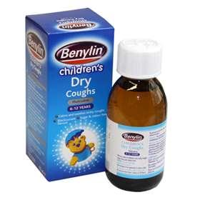 Benylin Children S Dry Coughs 125ml Expresschemist Co Uk Buy Online