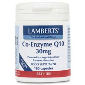 Lamberts Co-Enzyme Q10 30mg (180)