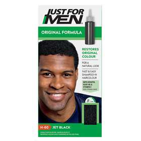 Just For Men Shampoo In Hair Colour Jet Black H60
