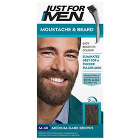 Just for Men Moustache and Beard - M40 Medium-Dark Brown