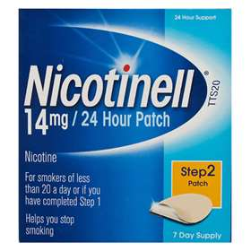 Nicotinell Patch Step 2 14mg 7