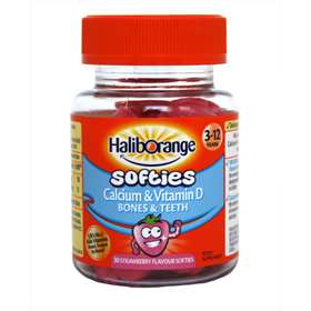 Haliborange Kids Vitamin D Calcium Strawberry Softies 30c 3305