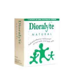 Dioralyte Sachets Natural 6