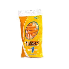 Bic 1 Disposable Classic Razors - Sensitive (10)