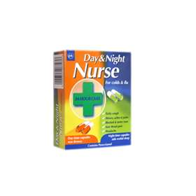Day and Night Nurse Capsules 24