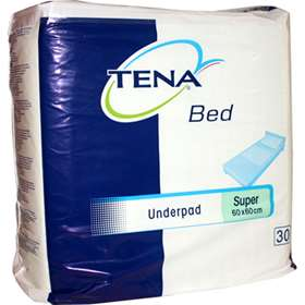 Tena Bed Underpad Super 60 x 60cm 30