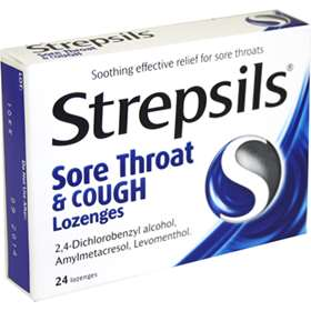 Strepsils Sore Throat and Cough Lozenges 24 2910