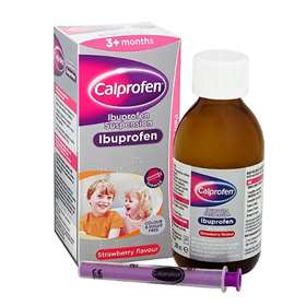 Calprofen Colour and Sugar Free Ibuprofen Suspension 200ml