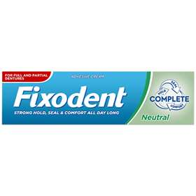 Fixodent Neutral Taste Denture Adhesive Cream 47g