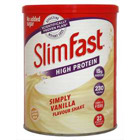 Slim Fast High Protein Simply Vanilla Powder Shake 438g