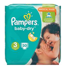 Pampers Baby-Dry Size 3 (4-9kg/9-20lbs)