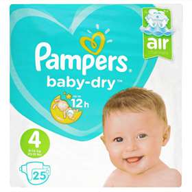 Pampers Baby Dry Size 4 (7-18kg/15-40lb)