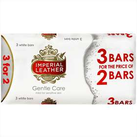 Cussons Imperial Leather Gentle Care Soaps 3 For 2