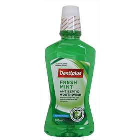 Dentiplus Fresh Mint Antiseptic Mouthwash 500ml
