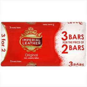 Imperial Leather Original Soaps 3 for 2