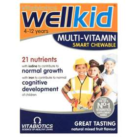 WellKid Smart Chewable Tablets 30