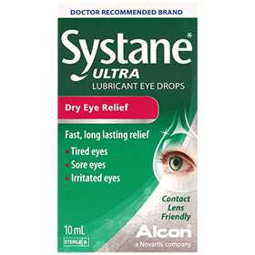 Systane Ultra Dry Eye Relief Drops 10ml 6584