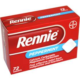 Rennie Peppermint Tablets 72