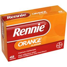 Rennie Orange Tablets 48
