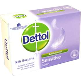 Dettol Anti-Bacterial Sensitive Soap 100g
