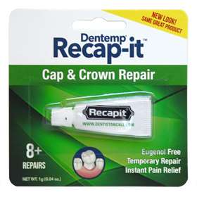 Dentemp Recapit Repair Loose Caps 1g