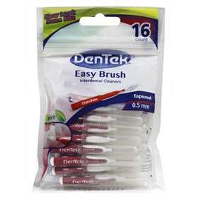 Dentek Easy Brush 16