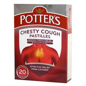 Potters Chesty Cough Pastilles 20