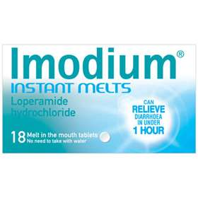 Imodium Instant Melts 18