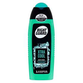 Right Guard Xtra Cool Artic Fresh 2 in 1 Shower Gel