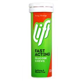 Lift Fast Acting Glucose Orange Chews 10
