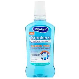 Wisdom Smokers Mouthwash 500ml