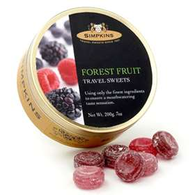 Simpkins Forest Fruit Travel Sweets 200g (7oz)