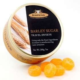 Simpkins Barley Sugar Travel Sweets 200g (7oz)