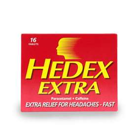Hedex Extra Tablets 16
