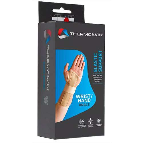 Vitamins & Supplements Thermoskin Elastic Wrist/Hand Brace, Right, Small 83643