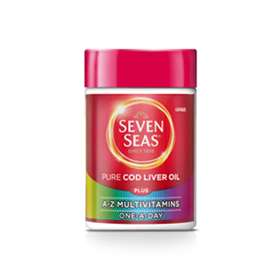 Seven Seas Cod Liver Oil Plus A-Z Multivitamins One-A-Day Capsules 30