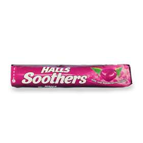 Halls Soothers Blackcurrent Juice Sweets 45g