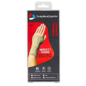 Thermoskin Thermal Wrist/Hand Brace with Dorsal Stay Small Left 83268