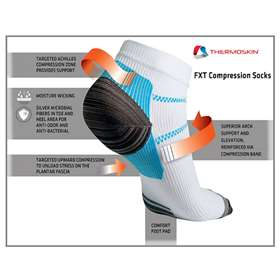 Thermoskin FXT Compression Sock Medium 84601