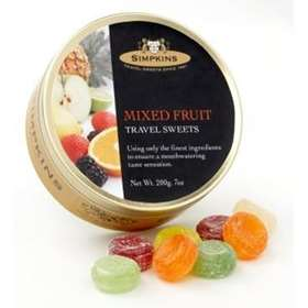 Simpkins Mixed Fruit Travel Sweets 200g (7oz) 3310