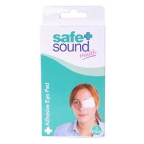Safe + Sound Health Adhesive Sterile Eye Pads 3-Pack