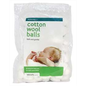 Numark Babysoft Cotton Wool balls 100