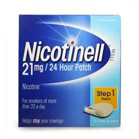 Nicotinell Step 1 21mg Patch