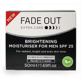 Fade Out Brightening Moisturiser For Men SPF 25 50ml