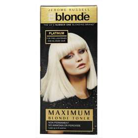 Bblonde maximum blonde toner platinum 75ml