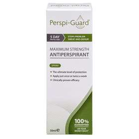 Perspi-Guard Maximum Antiperspirant Treatment Spray 50ml