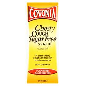 Covonia Chesty Cough Sugar Free Syrup Non Drowsy 150ml