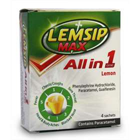 Lemsip Max All in One Lemon Sachets 4