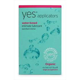 Yes Water-Based Intimate Lubricant Applicators 6x5ml