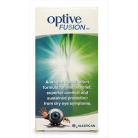 Optive Fusion Dry Eye Relief Drops 10ml